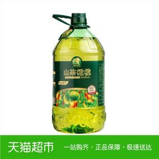 探花村食用油山茶橄榄5L食用调和油植物油商超同款